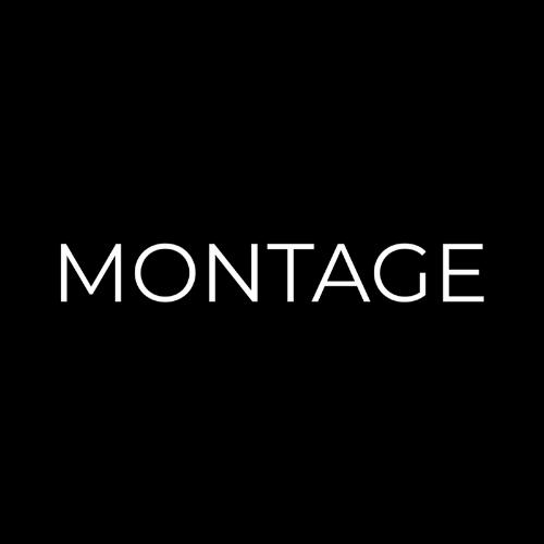 Montage - Logo - Black - 500 px